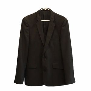 RW&co black suit jacket size 38